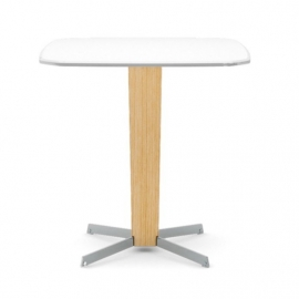 Table de bar carrée Porta Venezia H.71cm