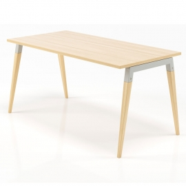 Bureau simple Good Wood chêne en 120x70